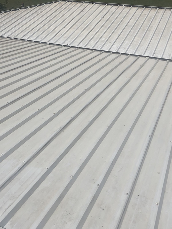 Residential Roof After Cleaning